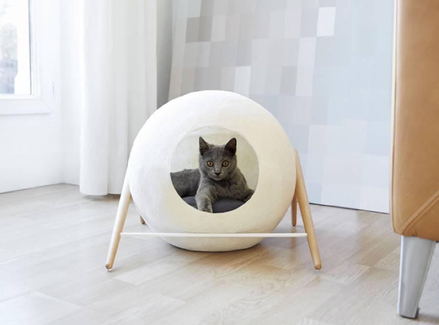 Camas para gatos de dise o mundo gatos - Camas para gatos ...
