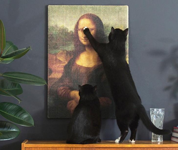 Rascador para gatos Mona Lisa (1)